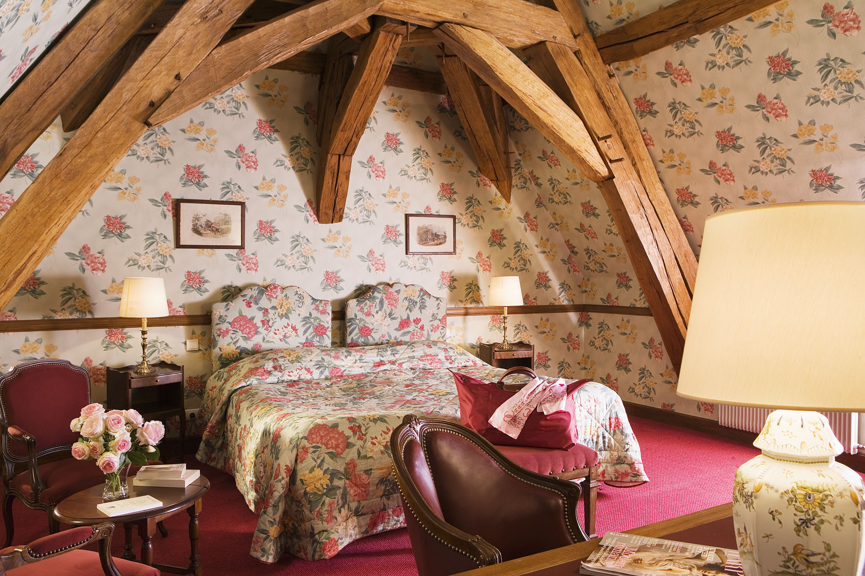Chambre DeLuxe - CHATEAU DE GILLY©HARDEL