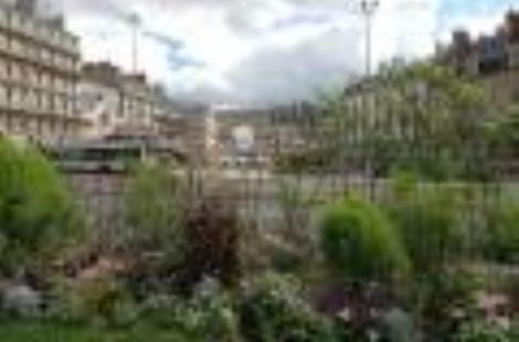 Une vue de Dijon