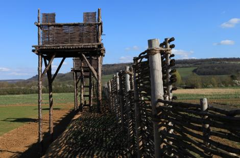 Reconstitutions des fortifications romaines