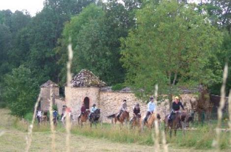 promenade à cheval