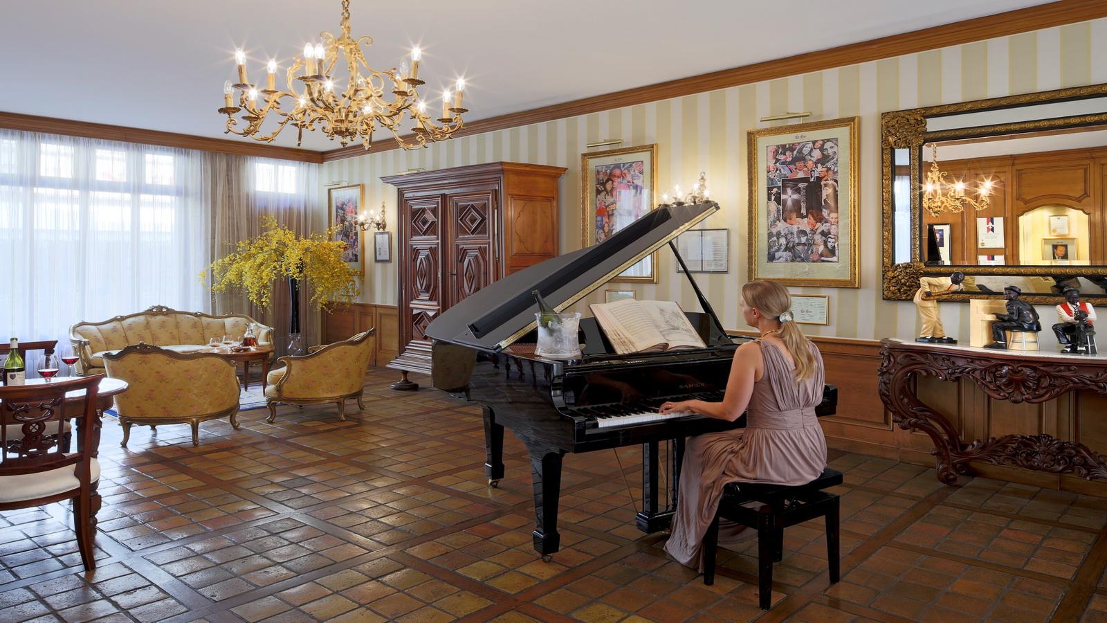 Le Salon Louisiane - Hôtel Le Cep © HÔTEL LE CEP©JC BERNARD