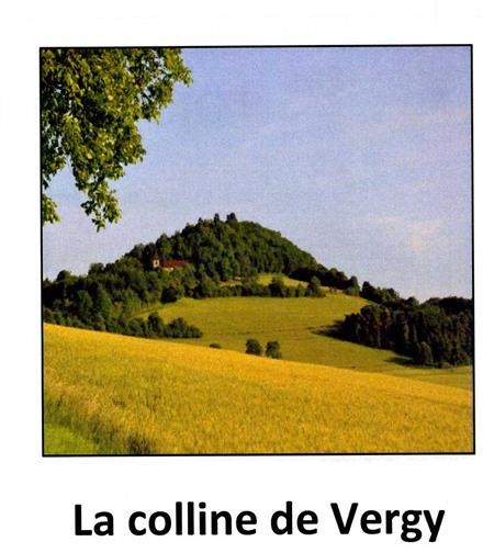 La colline de Vergy