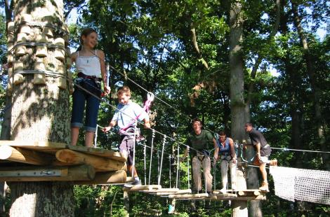 Parc aventure les Zaccroches-Sauvigny