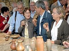 Dégustation de vins antiques à BIBRACTE