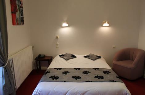 Chambre © Hôtel Vuillot
