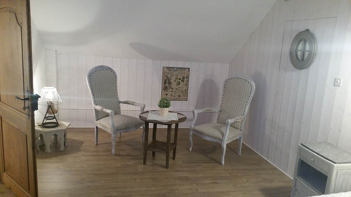 Chambre large salon - B.Chamoy