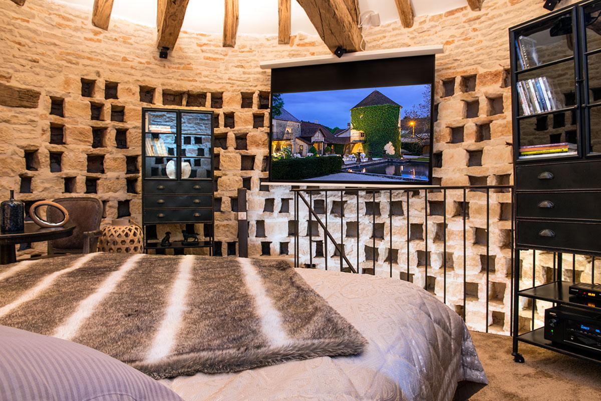 Chateau de Courban & SPA NUXE Chambre pigeonnier - CDC