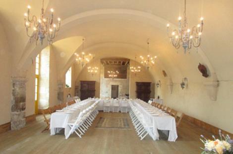 Salles au Château des Bordes