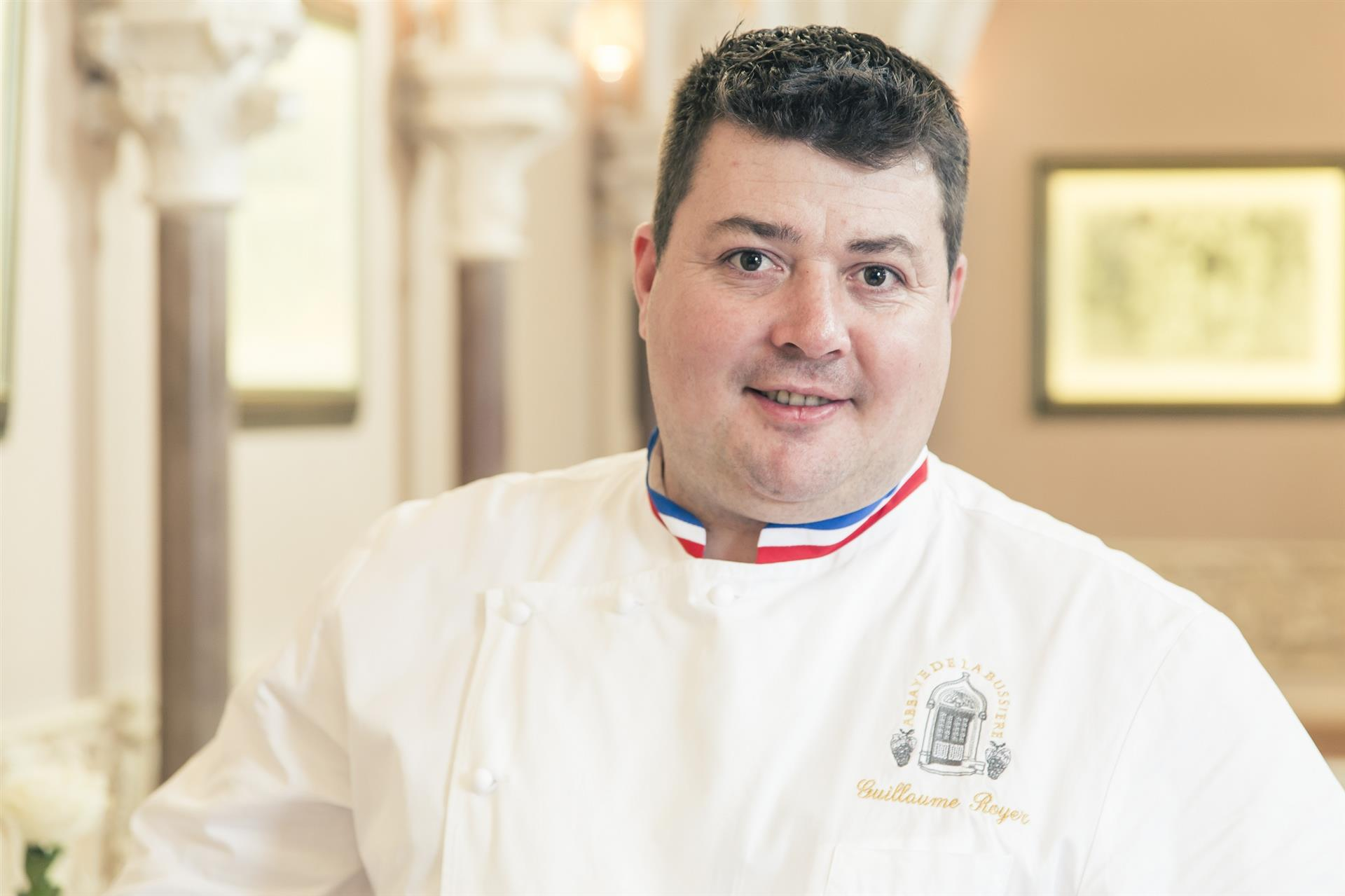 Guillaume Royer chef de cuisine - Philippe Giraud