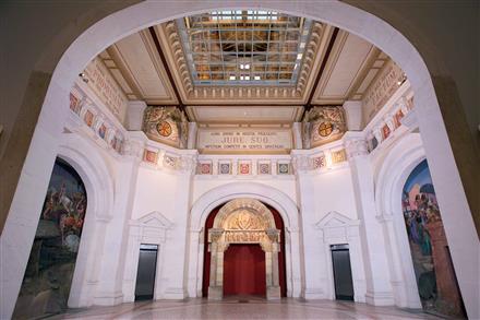 Musée du hiéron salle centrale