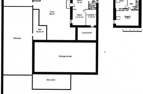 N° 18 - plan de la proprieté -