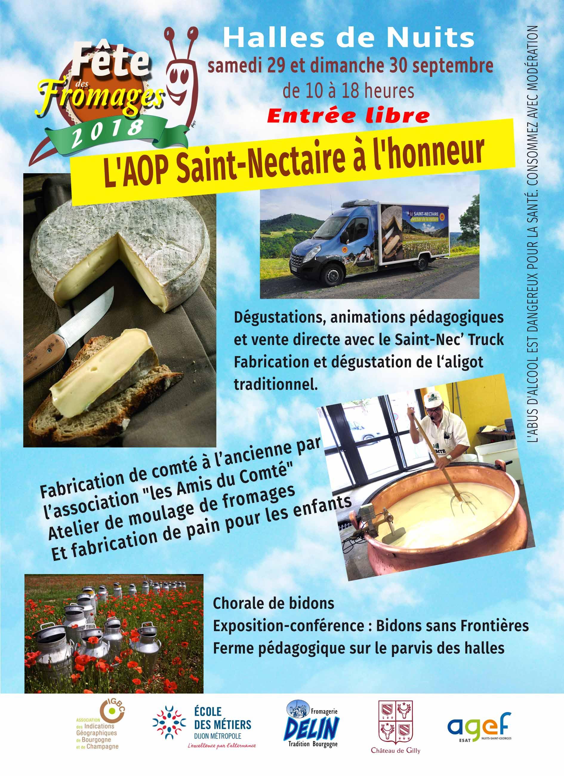 Fête des fromages de Bourgogne Franche-Comté - Nuits-Saint-Georges