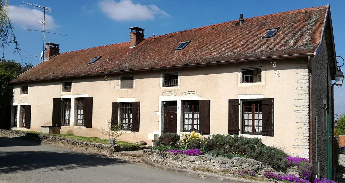 maison cote rue - B.Chamoy