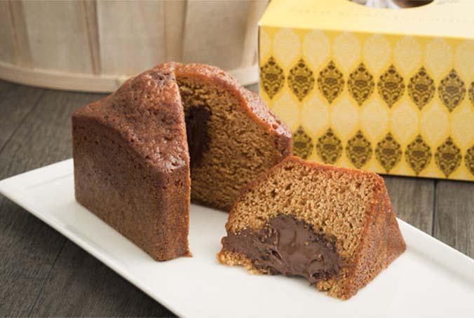 Le gâteau aux épices Toussaint coeur fondant chocolat Gianduja - Maison Toussaint