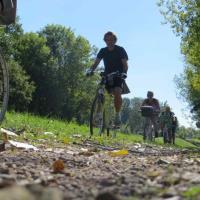 Balade à vélo Chablis