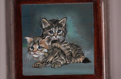 coffret à bijoux chatons