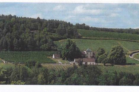 Le prieuré et son vignoble