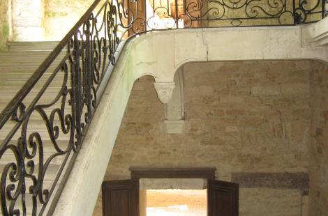 Escalier XVIIIème Aile Ouest
