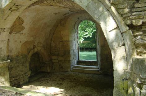 Chapelle de la vierge XII e siècle
