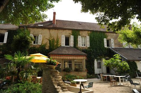Terrasse de l'hôtel-Restaurant de la Côte-d'Or - Châtillon