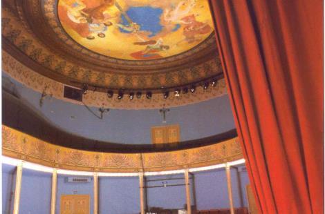théâtre à l'italienne de Semur-en-Auxois