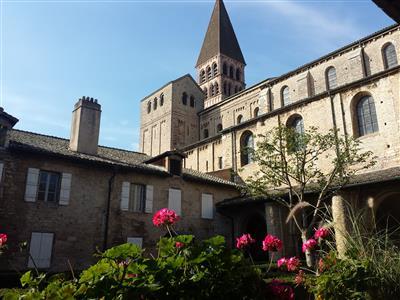 Abbaye Saint-Philibert de Tournus - Crédit : OT Tournus