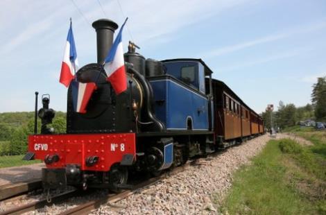 Le train touristique au départ de Pont d'Ouche