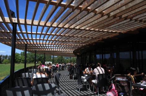 Terrasse du Restaurant-self Le Carnyx