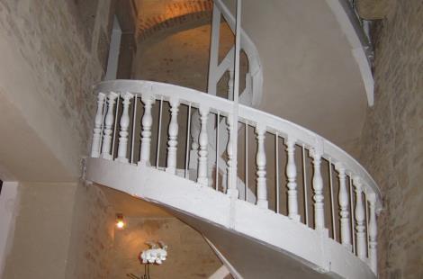 Le grand escalier, la nuit