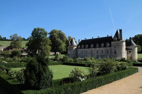 les jardins du château de Bussy-Rabutin