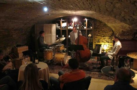 Concert jazz aux caves