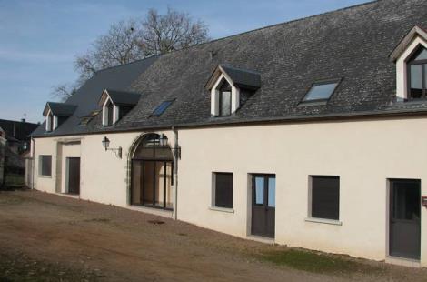 bâtiment internat