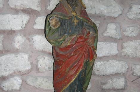 Statue de saint Léger