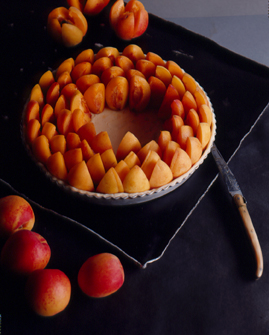 CP tarte aux abricots - (c) J.M Tingaud
