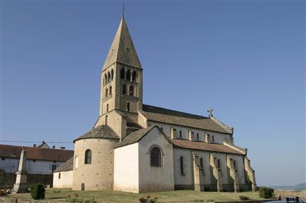Eglise de La Vineuse - OT Cluny - L. CHOCAT - copie