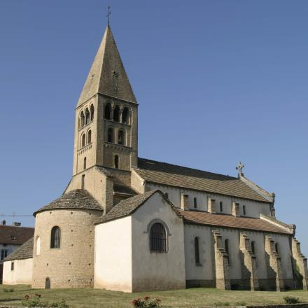 Eglise de La Vineuse - OT Cluny - L. CHOCAT - copie