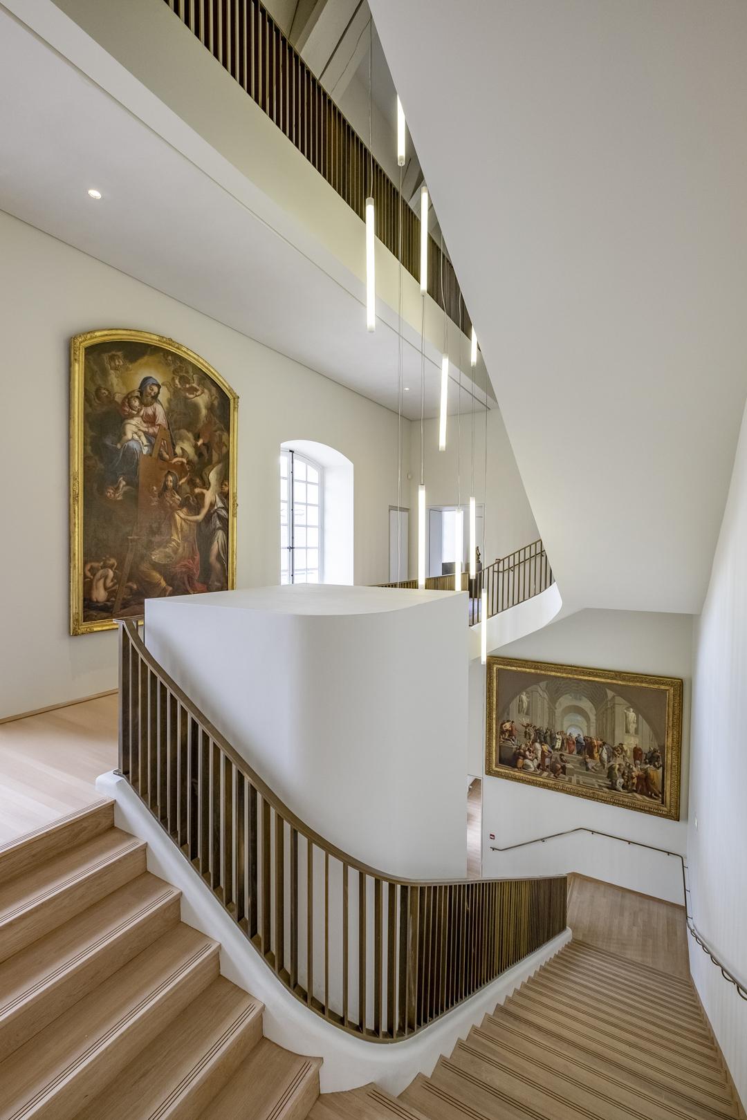 Escalier_MdBA_2019_1 © © musée des Beaux-Arts de Dijon, © Bruce AUFRERE / TiltShift