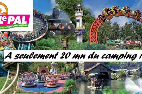 Parc animalier et d'attractions à 25 mn