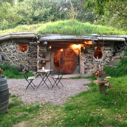 Maison de hobbits face GL
