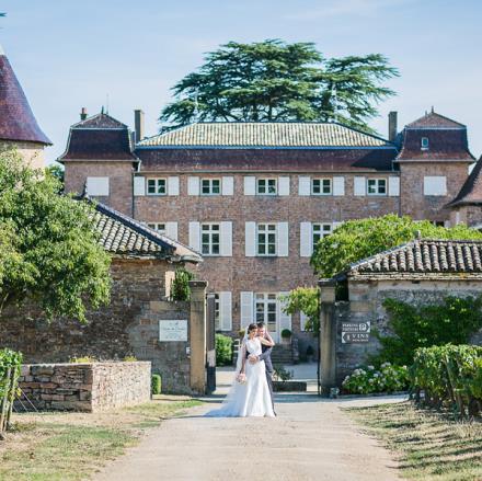 Chateau de Chasselas: entrée principale