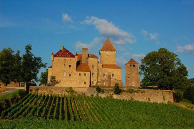 Château de Pierreclos - Crédit : Château de Pierreclos