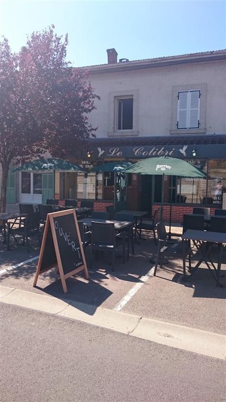 Restaurant Le Colibri -Terrasse © Le Colibri
