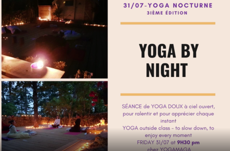 YOGA NOCTURNE/YOGA BY NIGHT, Beaune