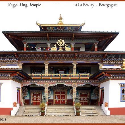 Temple Paldenshangpa La Boulaye