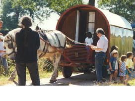 Roulottes en Bourgogne