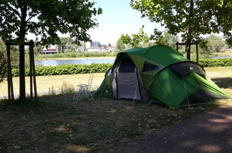 Emplacement camping de Nevers