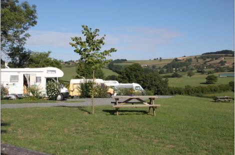 Aire de camping-car à la ferme