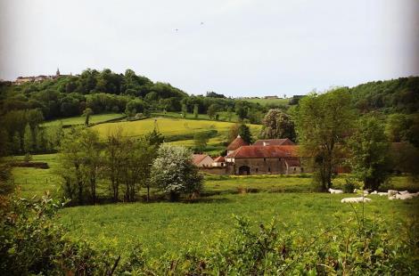 Domaine de Flavigny - Alésia - vue d'ensemble