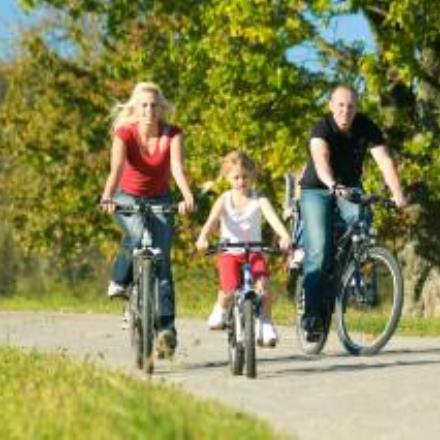 A vélo en famille